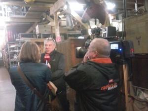 ORF interviewt Thomas Vögel, einer der sechs props.co Pioniere